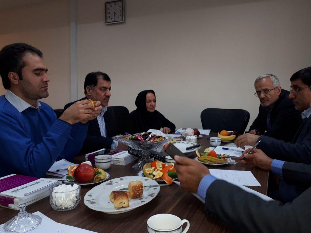 برگزاری جلسات انجمن